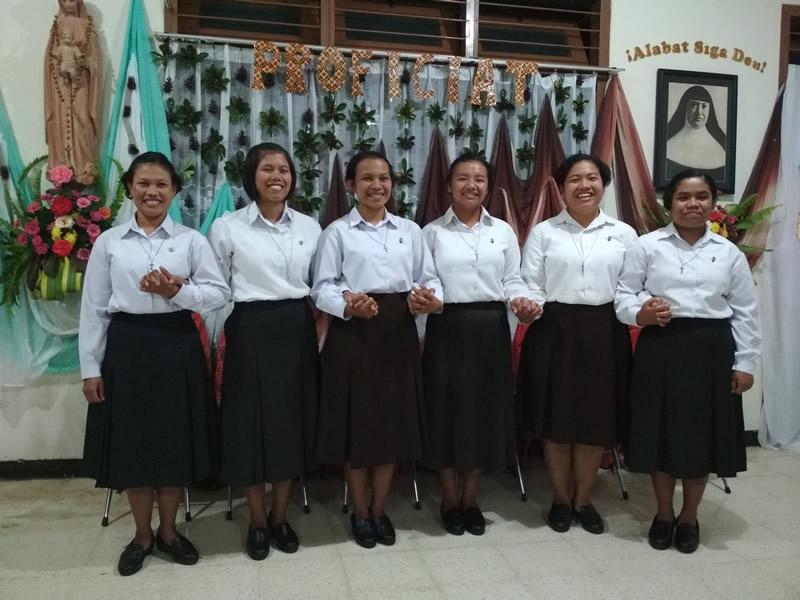 Iniciación al Noviciado en Indonesia