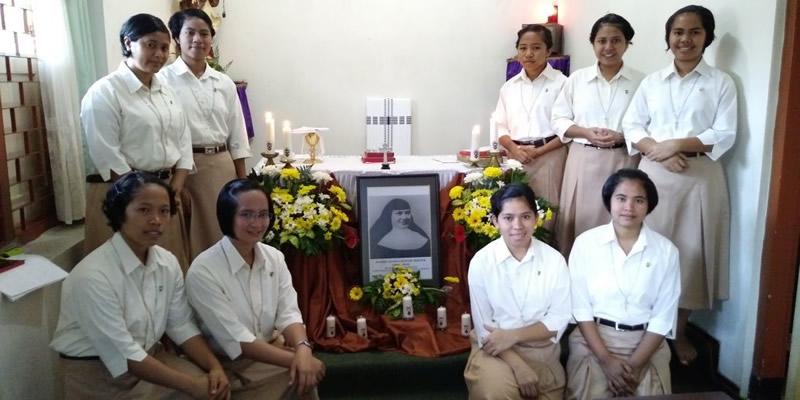 Iniciación al Postulantado en Indonesia
