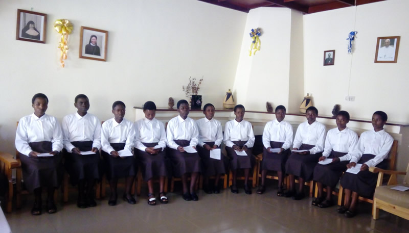 Iniciación al Noviciado en Rwanda
