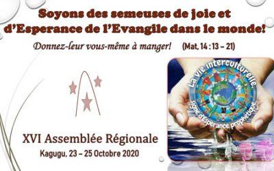 XVI Asamblea Regional en Rwanda