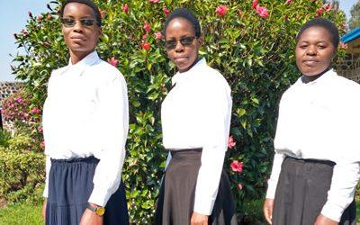 Nuevas Aspirantes en Rwanda